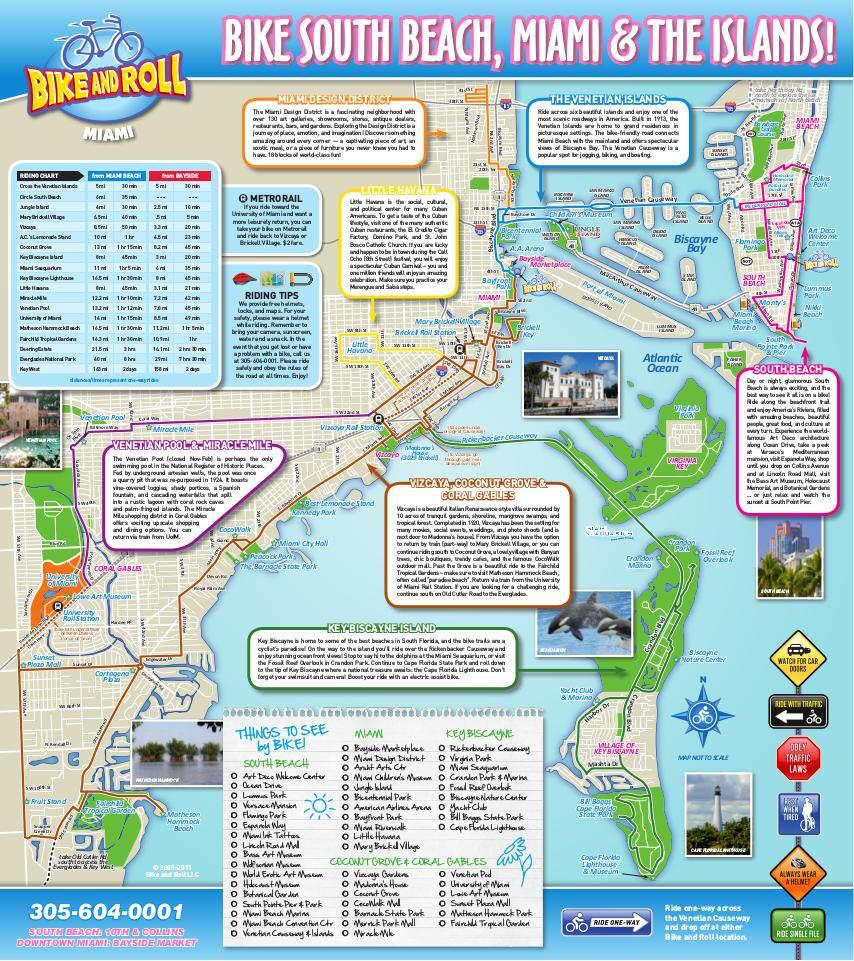 miami bike trail map | edocr