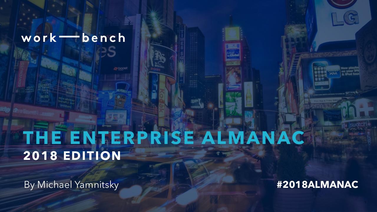 Enterprise Almanac 2018 by Michael Yamnitsky   edocr