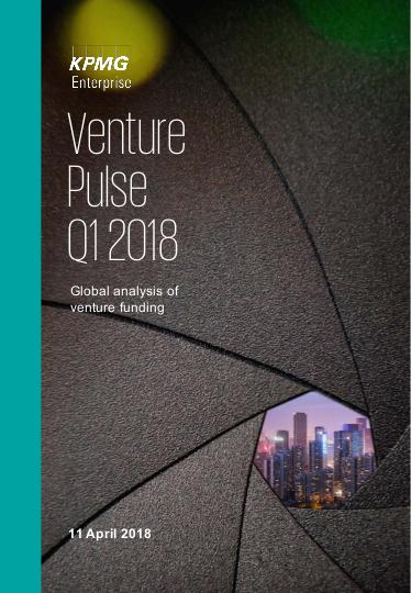 KPMG Venture Pulse Q1 2018