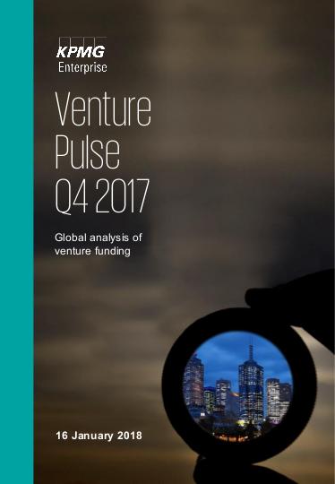 KPMG Venture Pulse 2017 Q4