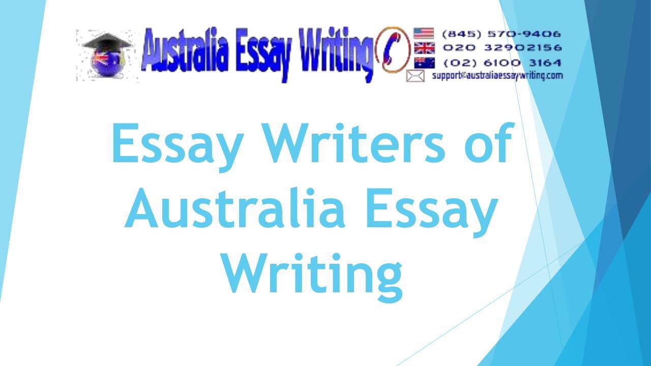 Essay writing companies in australia