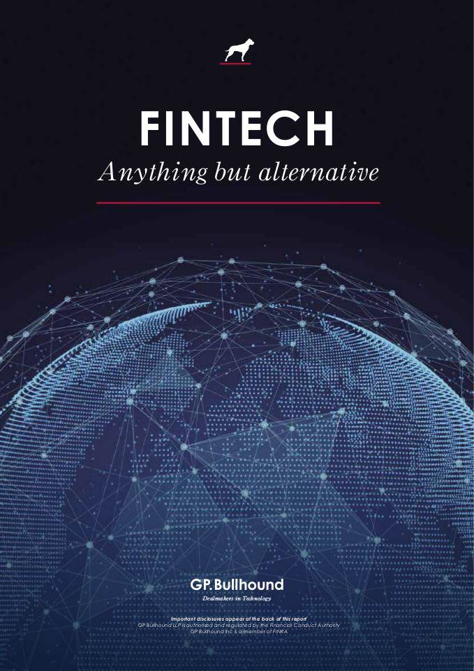 Fintech Anything by Alternative by GP Bullhound