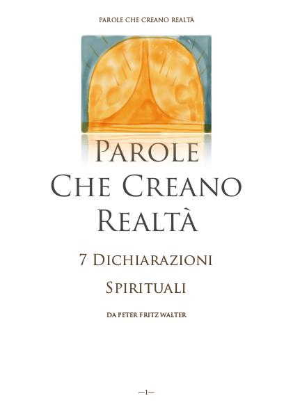 7 Dichiarazioni Spirituali