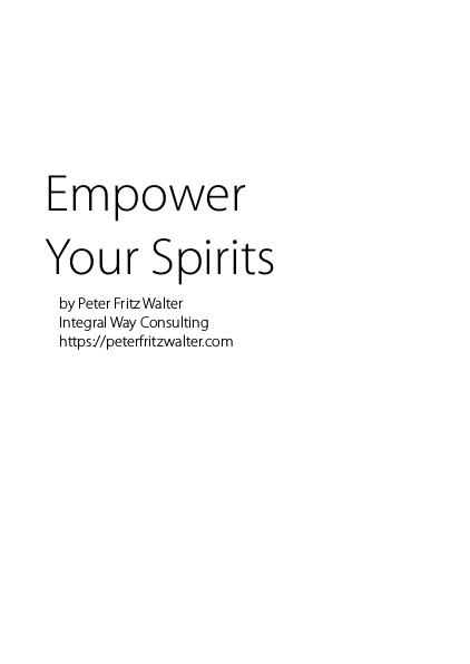 Empower Your Spirits