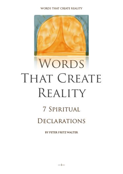 7 Spiritual Declarations