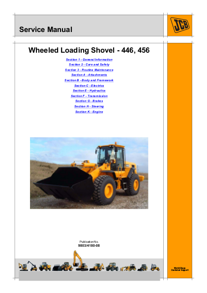 JCB 456 WHEELED LOADER Service Repair Manual | edocr Jcb Wiring Diagram on