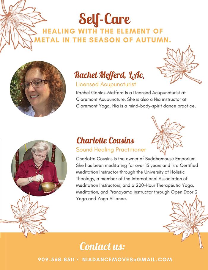 Brochure Image Join Healers, Rachel Mefferd and Charlotte Cousins