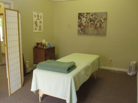 Treatment Room, Cloud Gate Acupuncture and Healing Arts, Broomfield, Colorado
