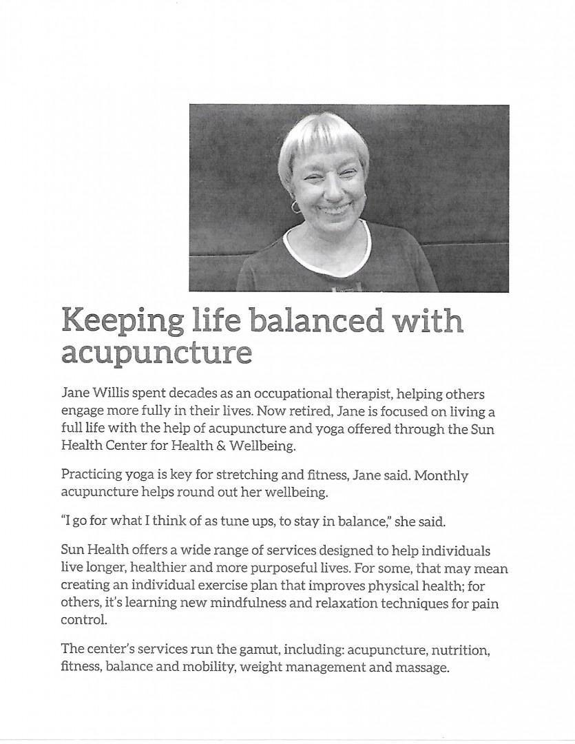 Keeping Life Balanced With Acupuncture, Four Seasons Acupuncture in Sun City, AZ