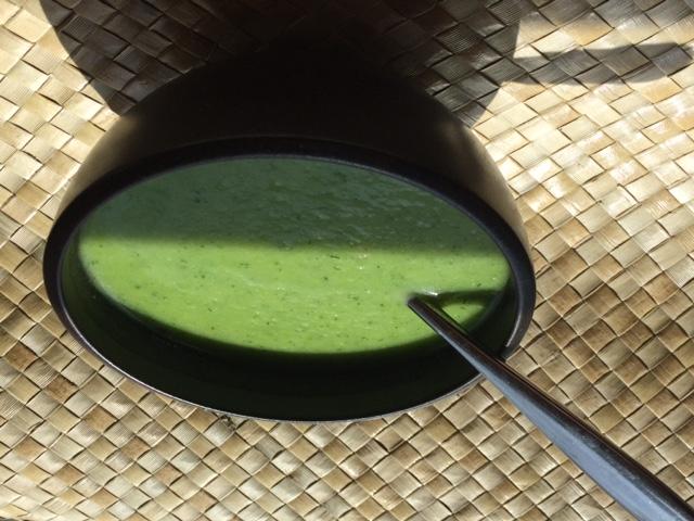 Creamy Zucchini Soup,