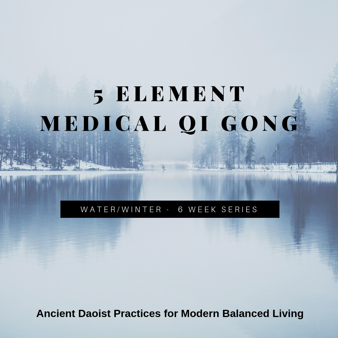 Lawrence Acupuncture 5 Element Medical Qi Gong - Winter/Water
