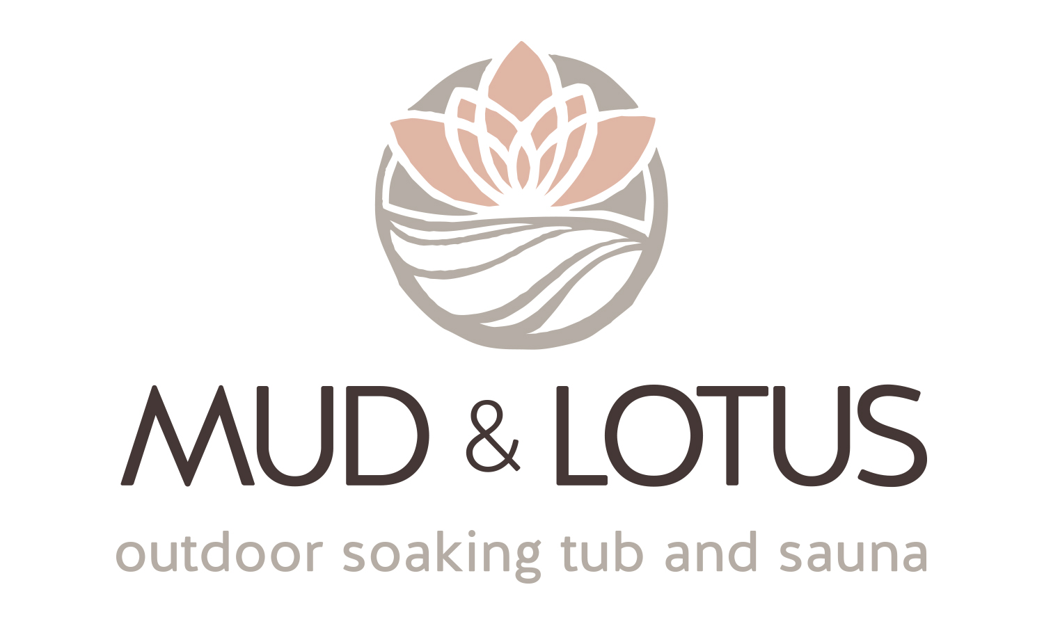 Mud & Lotus Outdoor Soaking Tub and Sauna
