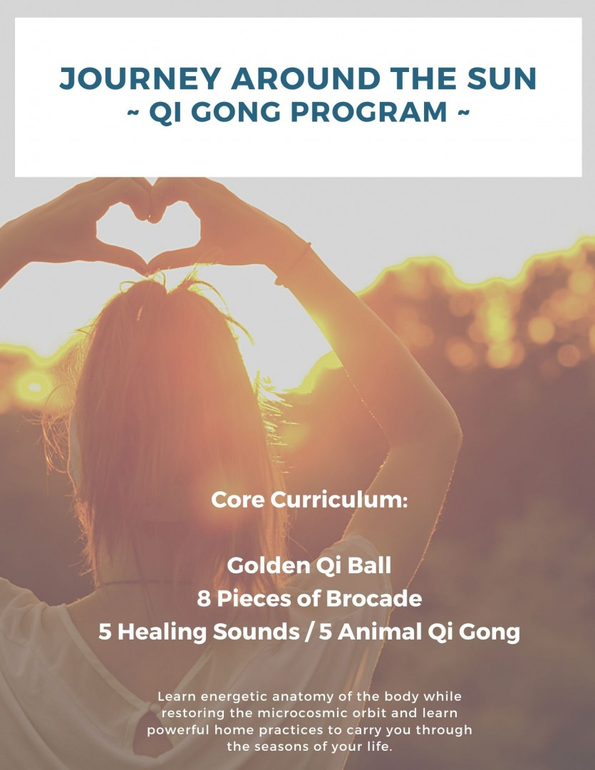 Journey Around the Sun Qi Gong Program - Lawrence Acupuncture in Lawrence, KS