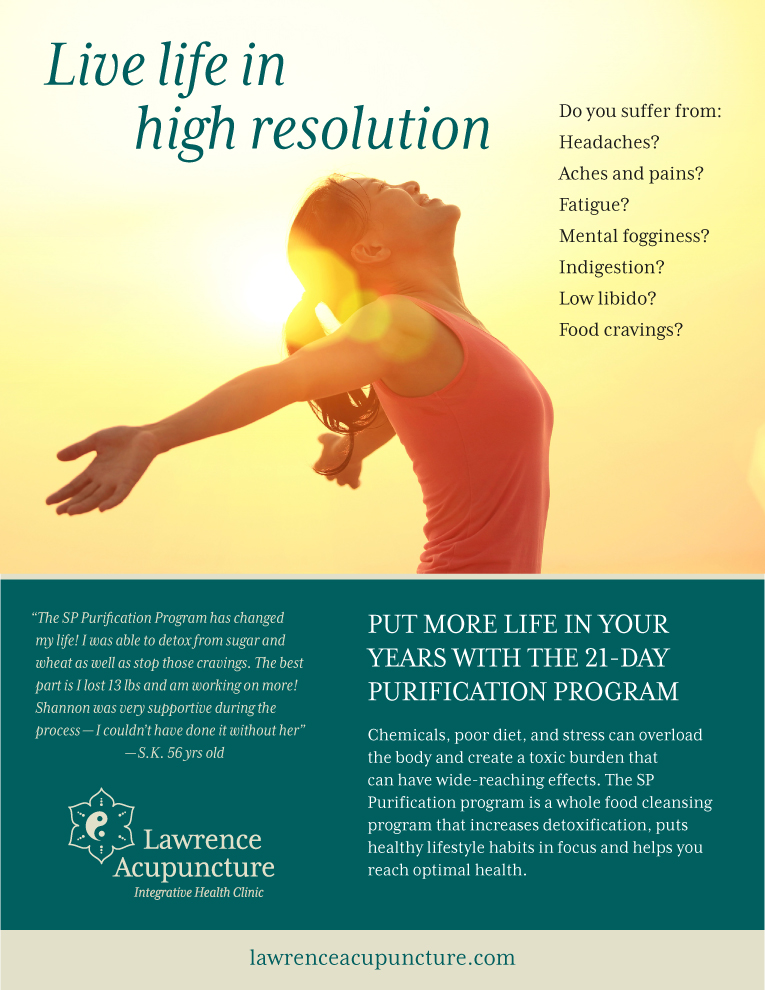 21 Day Purification Program - Lawrence Acupuncture in Lawrence, KS
