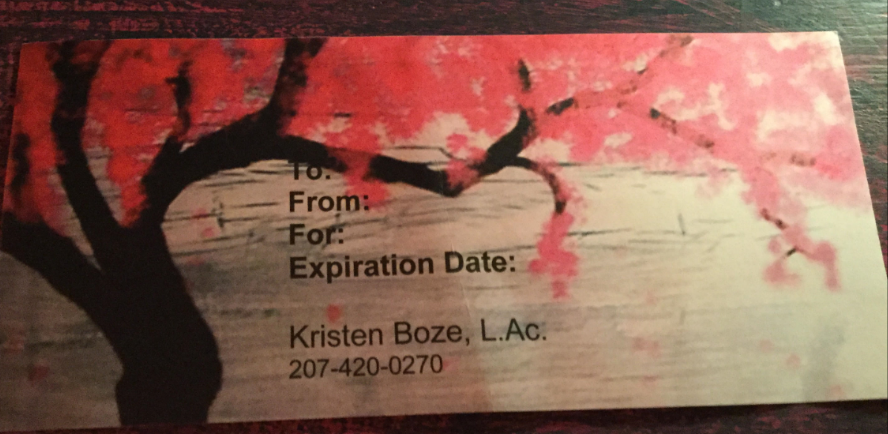 Kristen Boze offers Acupuncture, Oriental Medicine, Yoga in Portland, Maine