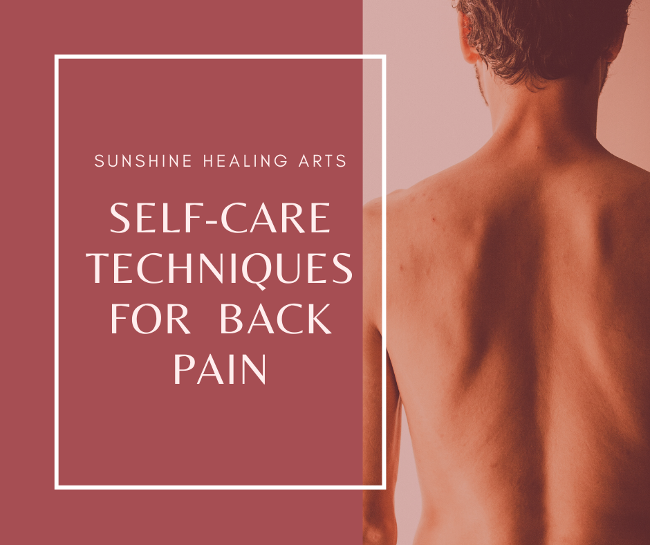 Self-Care for Back Pain, Sunshine Healing Arts Acupuncture & Wellness in Jacksonville Beach, Florida