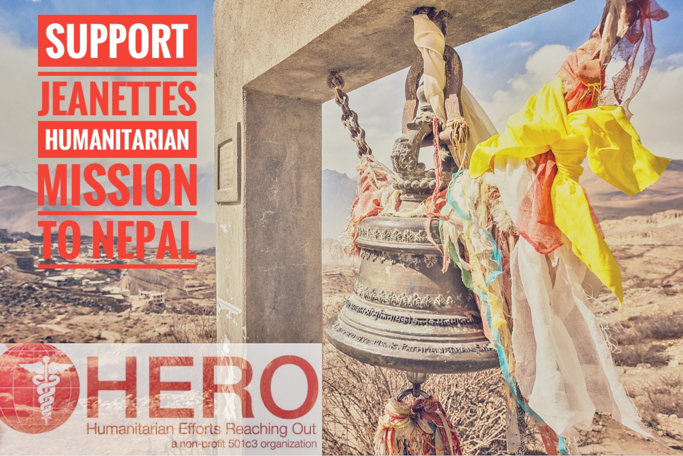 PLEASE Support Jeanette's Humanitarian Mission to Nepal 2020, Verde Valley Acupuncture in Cottonwood, AZ