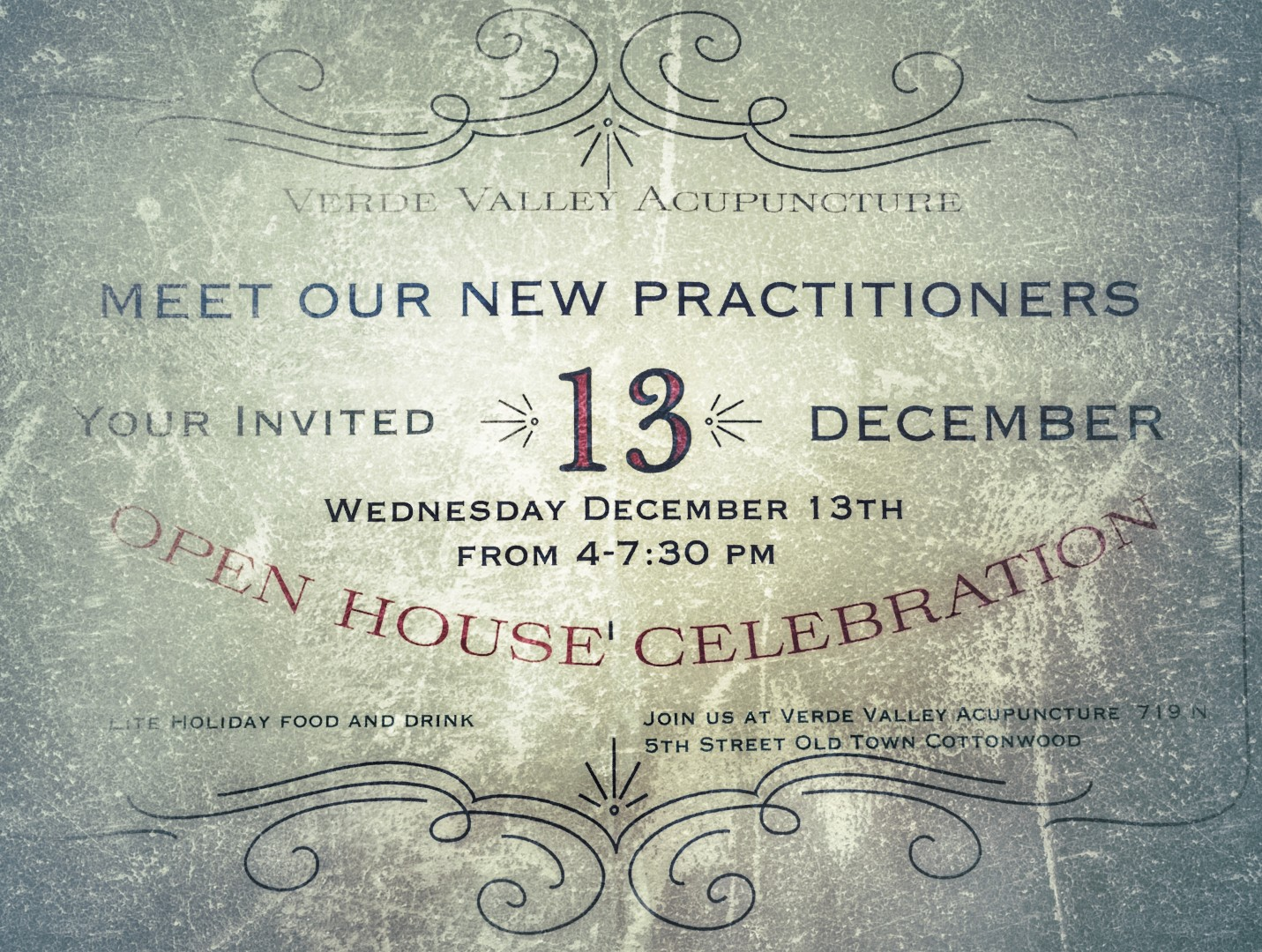 Open House Celebration, Verde Valley Acupuncture in Cottonwood, AZ