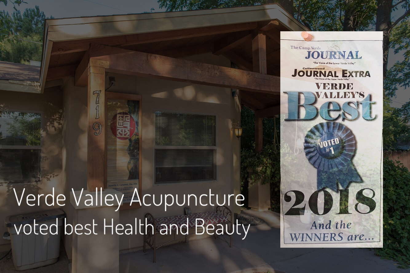 Verde Valley Best of 2018 and the winners are..., Verde Valley Acupuncture in Cottonwood, AZ