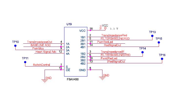 Demultiplexer schematic