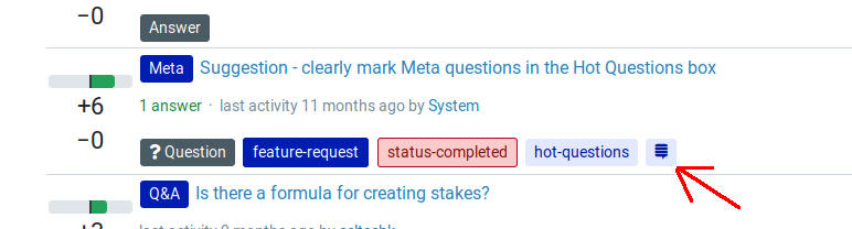 Screenshot of question incorrectly marked as imported