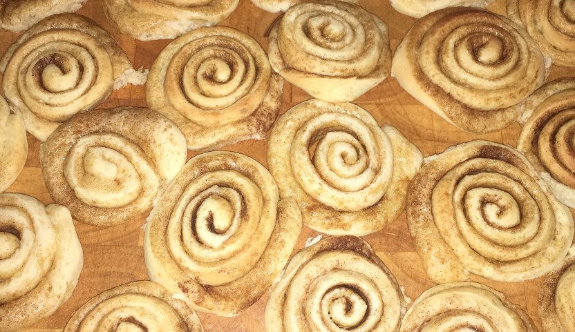 Ultra-tasty cinnamon rolls