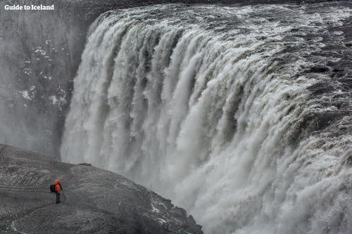 Large, high-volume waterfall with a significant fall.