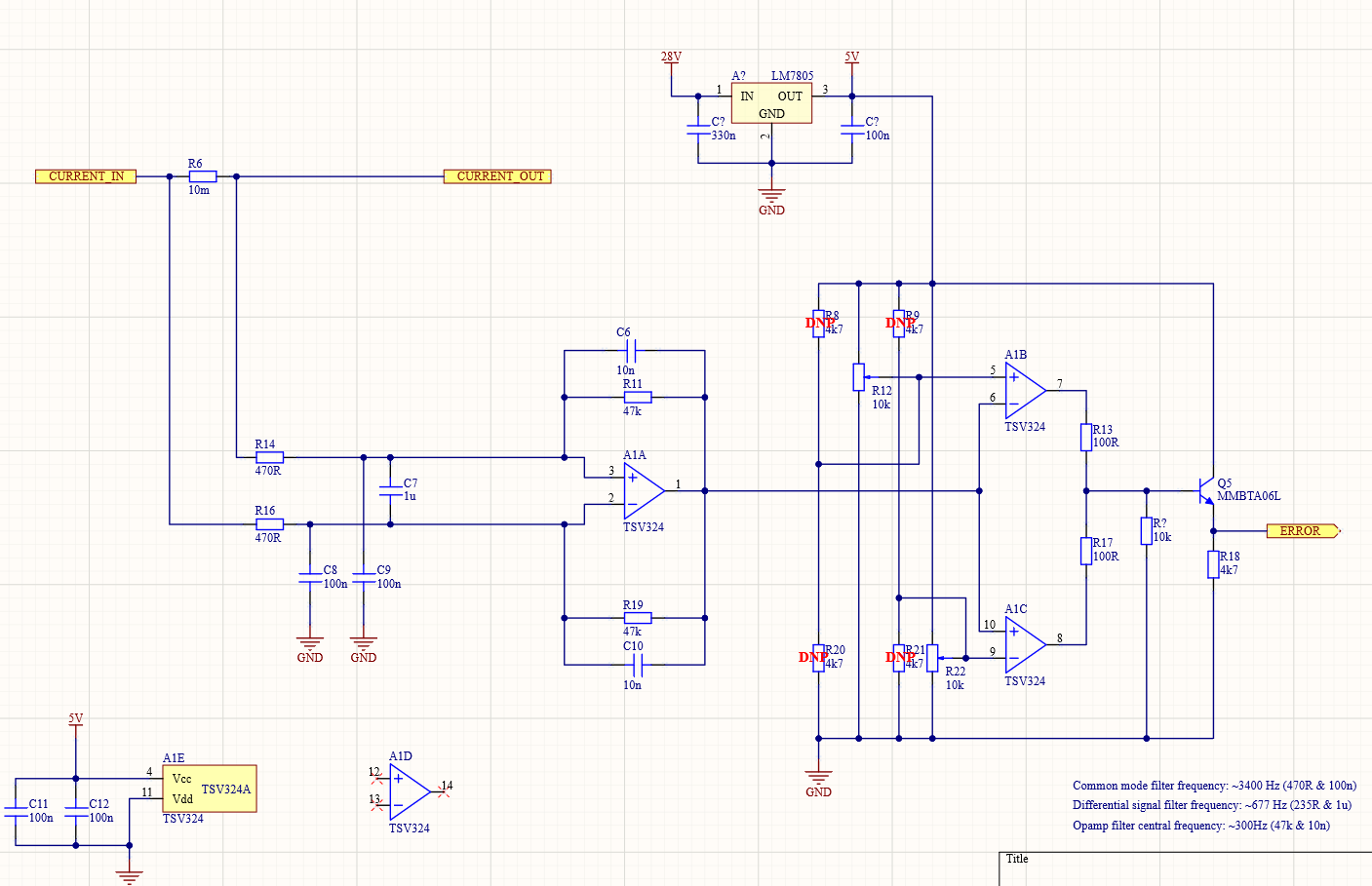 Circuit under discussion