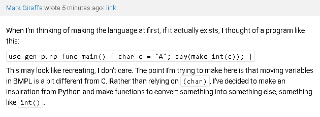 comments hate multi-line code.