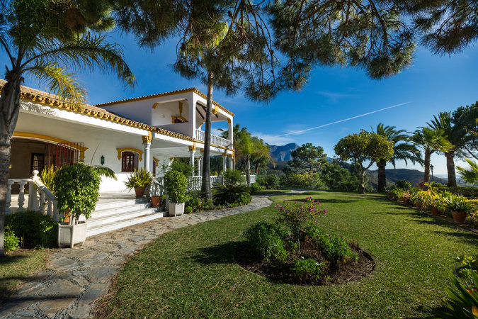 A home for sale in El Madronal, a gated community in Benahvis, Spain.