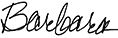 Barbara Goodstein Signature