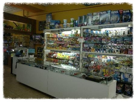 galeria oceanica comercio de animais ltda