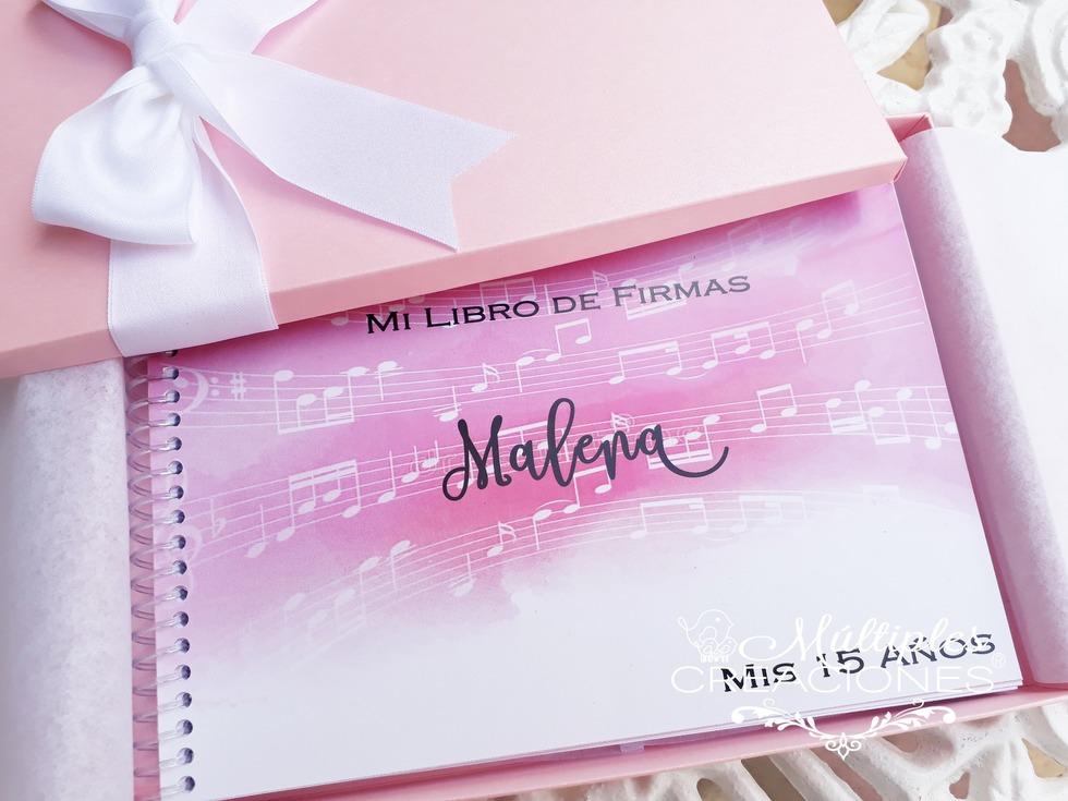 88425127d Multiples Creaciones / Diseño Grafico & Papeleria Fina para Eventos | Libro  de firmas -