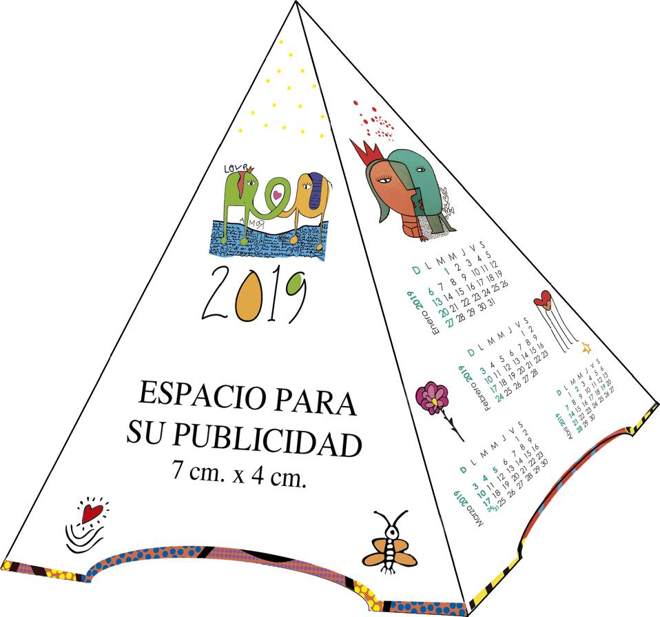 Calendario F.Almacen De Tarjetas F Calendario 2019 Milo Lockett
