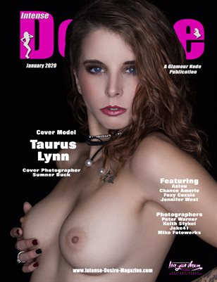 INTENSE DESIRE MAGAZINE - Cover Model Taurus Lynn - January 2020