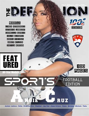 The Definition: Sports Football Angie Cruz cover