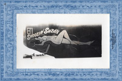 WORLD WAR 2 AIRCRAFT NOSE ART, CARL HAMILTON COLLECTION5