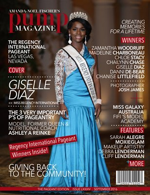 PUMP Magazine Regency International Featuring Giselle Diaz