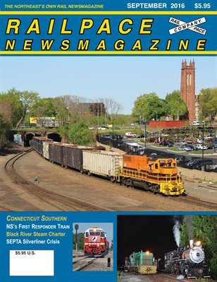 September 2016 Railpace Newsmagazine