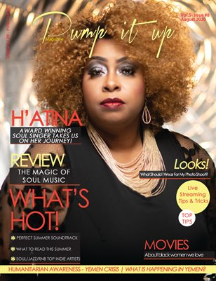 Pump it up Magazine With H'Atina - Award Winning Soul Singer