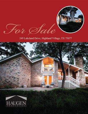249 Lakeland Drive, Highland Villige, TX 75077 - Haugen Properties
