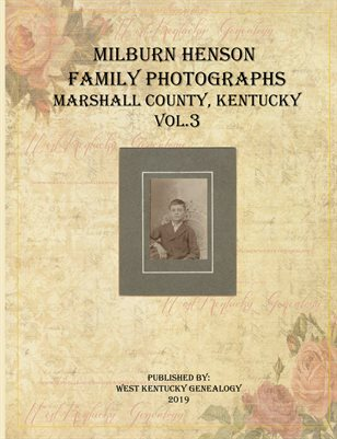 VOL.3 MILBURN HENSON FAMILY PHOTOGRAPHS