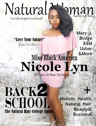 Natural Woman Magazine Miss Black America 2017