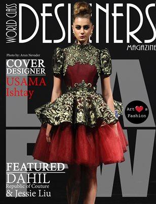 World Class Designers Magazine with Usama Ishtay