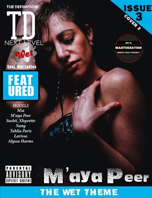 TDM M'aya Peer wet: issue3 cover 2
