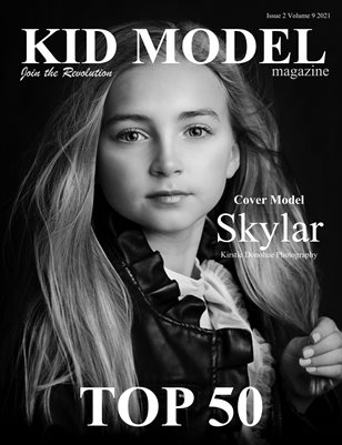 Kid Model Magazine Issue 2 Volume 9 2021