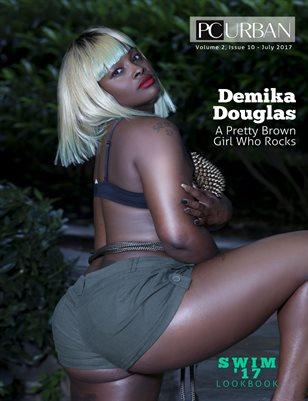 Vol 2- Issue 11 Pretty Brown Demika Douglas - Swim Issue