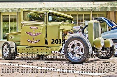2014 Hotrod Truck Calendar
