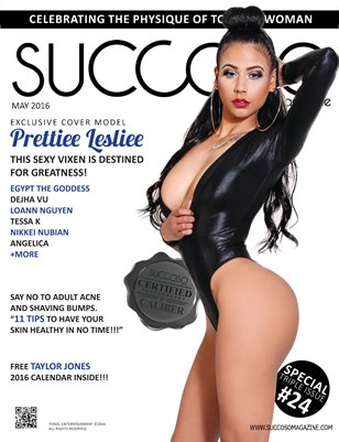 Succoso Magazine Triple Issue #24 featuring Cover Model Prettiee Lesliee