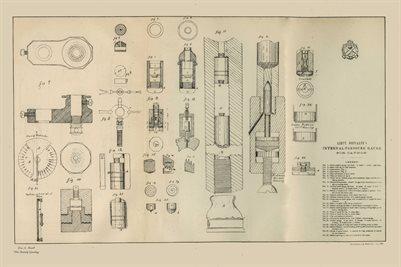 1877 Lieut. Metcalfe's Internal-Pressure Gauge for Cannon